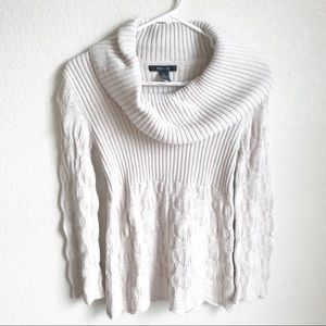 Style & Co. • Ribbed Cowl Neck Sweater, Small
